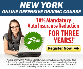 Online Defensive Driving Course New York